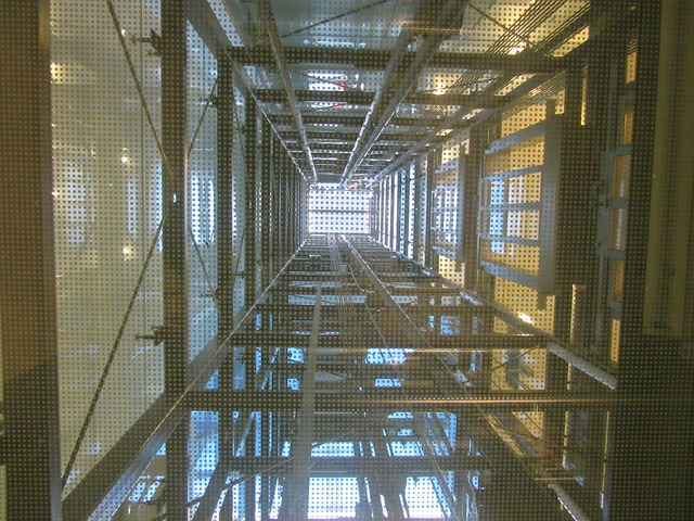 elevator shaft cleaning